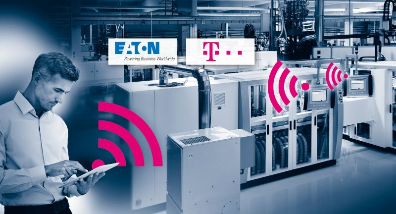 Eaton, Deutsche, Telekom, Partnerschaft, Kooperation