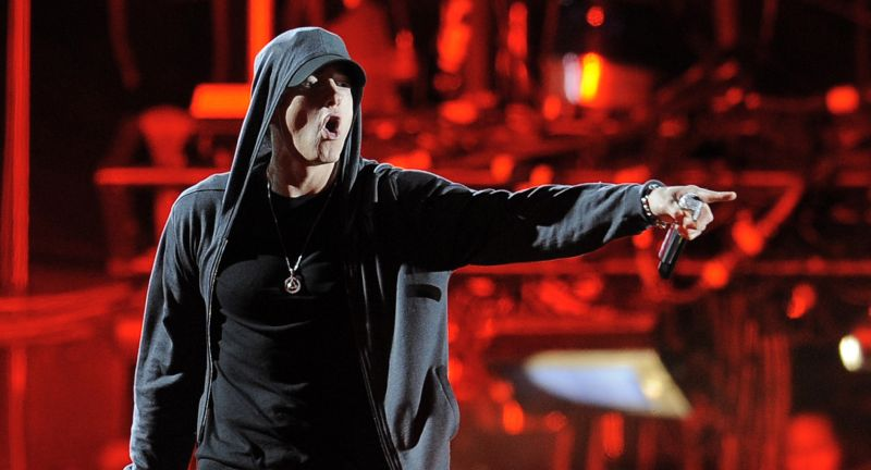 keytest012, Performing, Singing, Stage, One, person, Eminem