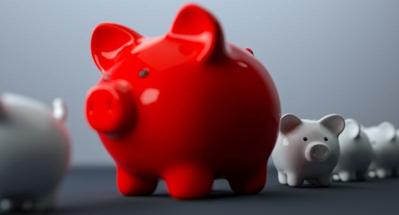 piggy, bank, piggybank, savings, deposit, bigger, above, bank account, banking, red, business, concept, directly above, economic, piggy bank, economy, finance, financial, growth, idea, in a row, individuality, investment, luxury, making money, money, overweight, pig, pink, prosperity, success, top view, wealth, account, cash, coin, coin bank, family, fund, growing, invest, kids, profit, rate, retirement, rich, safe, save, secure, security