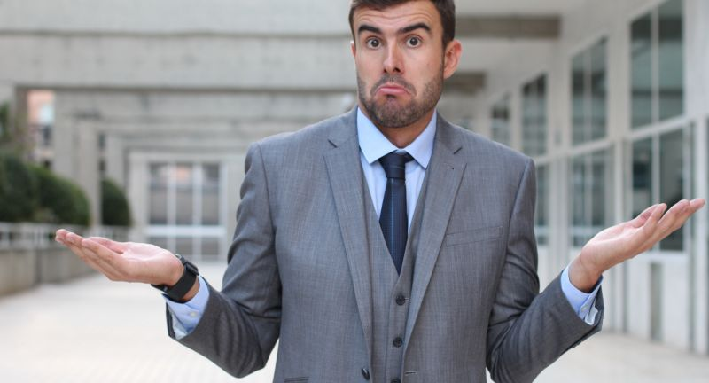 no, idea, know, business, shrug, man, background, isolated, expression, dont, problem, shrugging, white, person, caucasian, face, surprise, looking, stupid, concept, work, confused, gesture, decision, do, hand, attractive, sorry, one, smile, up, professional, standing, gray, suit, handsome, job, businessman, entrepreneur, lost, confusion, liar, bullshit, scammer, dumb, dummy, ignorant, naive, mendacious