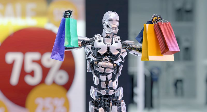 robot, shopping, shopping bags, shop, discounts, buy, black friday, advertising, ai, artificial, artificial intelligence, bionic, brain, 3d render, cg, consumer, cyber, cybernetic, cybernetics, cyborg, digital, electronic, fiction, figure, future, futuristic, gift, hi tech, humanoid, innovation, intellect, intelligence, interface, invention, learning, machine, mechanism, offer, robotic, robotics, sale, science fiction, smart, store, tech, technology, technology background, technology concept, virtual, white