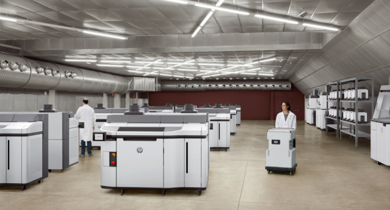 HP, Jet, Fusion, 5200, 3D, printing, solution, factory